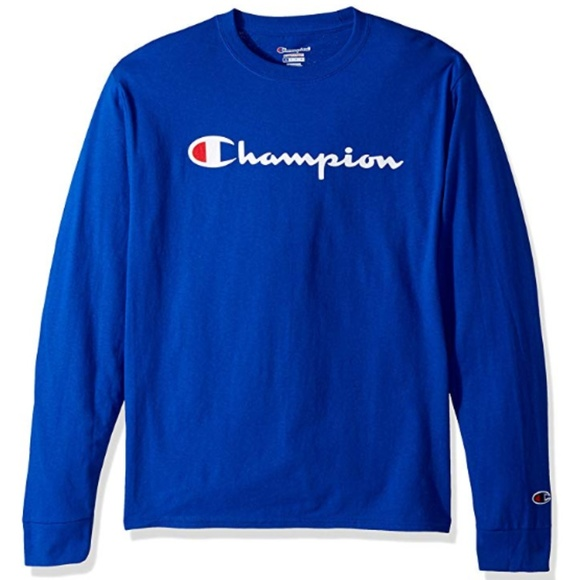 3fdf3c08 Champion Shirts | Life Mens Cotton Long Sleeve Tee | Poshmark